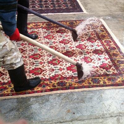 Teppichreinigung Handwäsche